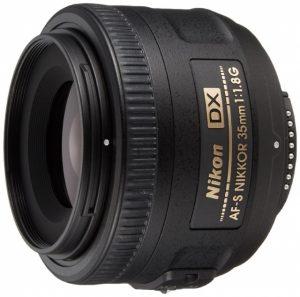 ニコンの単焦点レンズ35mmf1.8G