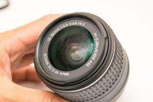 レンズの指紋