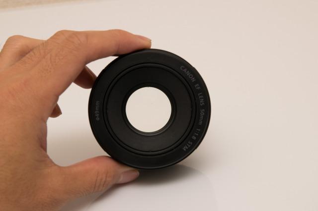 50mm単焦点レンズのデメリット