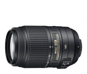 AF-S DX NIKKOR 55-300mm f/4.5-5.6G ED VRの側面からの写真