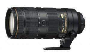 AF-S NIKKOR 70-200mm f/2.8E FL ED VRの側面写真