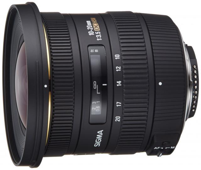 【超広角レンズ】10-20mm F3.5 EX DC HSM【APS-C専用】