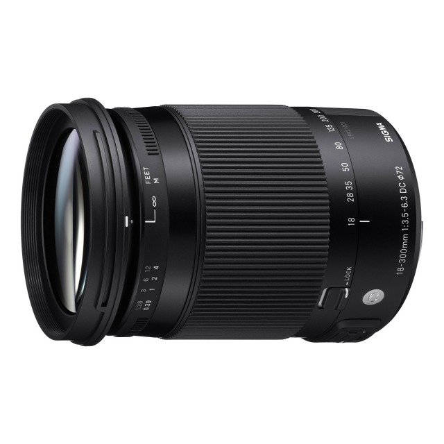 【高倍率ズームレンズ】Contemporary 18-300mm F3.5-6.3 DC MACRO OS HSM 【APS-C専用】