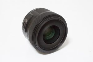Singma 30mm F1.4 DC HSM Art正面の写真