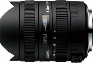 8-16mm F4.5-5.6 DC HSMの写真