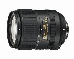 AF-S DX NIKKOR 18-300mm f/3.5-6.3G ED VRの横からの写真