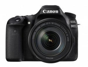 キャノンオススメの一眼レフカメラ80D