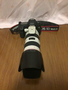 KF-TM2324に乗せるカメラ
