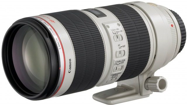 EF70-200mm F2.8L IS II USMの写真