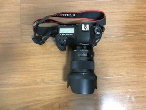 SIGMA 50mm f1.4 DG HSM ARTの上からの写真