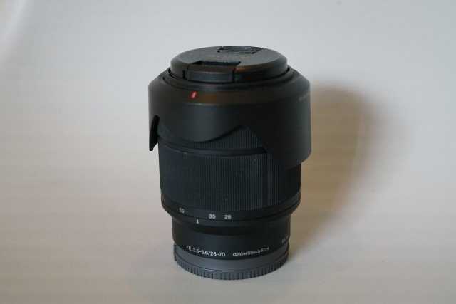 FE 28-70mm F3.5-5.6 OSS SEL2870の全体画像