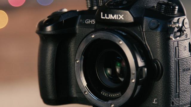 LUMIX GH5はセンサーサイズがマイクロフォーサーズ